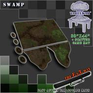 """30x44"""" 'Swamp' + Scatter Terran F.A.T. Mat Gaming Mat"""