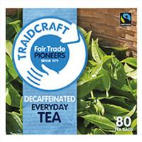Fairtrade Decaffeinated Everyday Teabags
