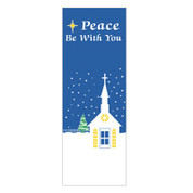 Peace Be With You Banner