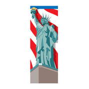 Lady Liberty Banner