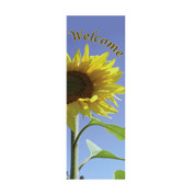 Welcome Sunflower Banner