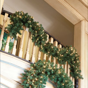 14' Oregon Fir Garland