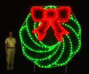 8 Ft. Wreath (C7 LED)