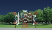 Flag Display - Animated