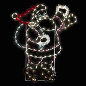 Waving Santa