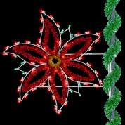4.5' Holiday Poinsettia
