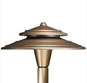 Advantage Lightsource Luna Perfecto Shade Path Light ADV-AP-03B, great for lighting for sidewalks and walk ways, as well as lighting your flower beds for night time viewing.