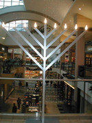 9 ft Indoor-Outdoor Display Menorah