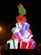 Giant Christmas Gift Box Tree