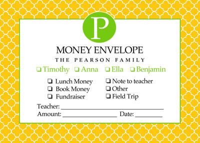 Money Envelopes - Clover Sun