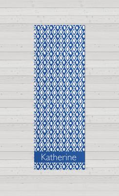 Yoga Mats - Ikat Blue