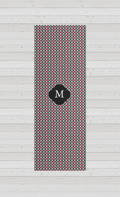 Yoga Mats - Gray Micro Dots