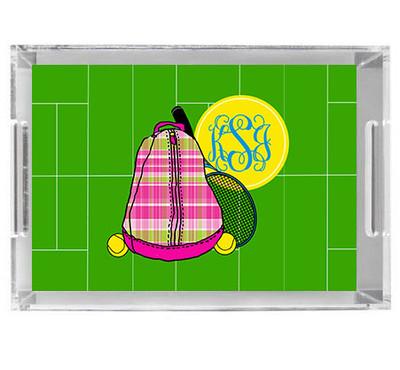 Acrylic Tray- Tennis