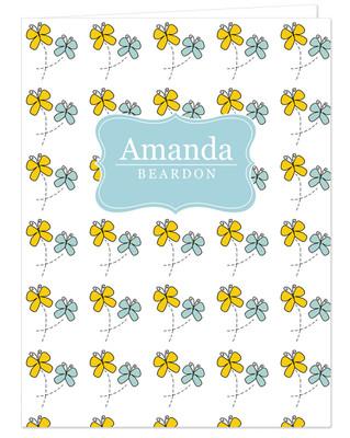 Pocket Folder - Butterflies