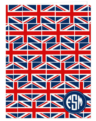 Pocket Folder - Union Jack