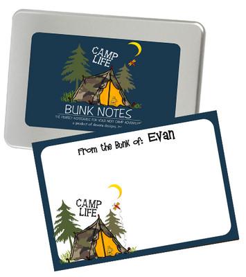 Bunk Notes-Tent