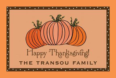 Placemat- Thanksgiving