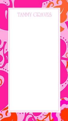 Nimble Notes- Hot Pink Vintage