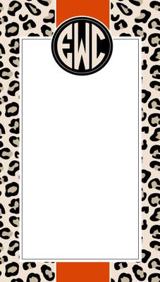 Nimble Notes- Leopard Stripe