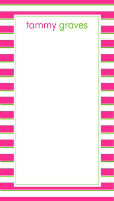 Nimble Notes- Preppy Stripes