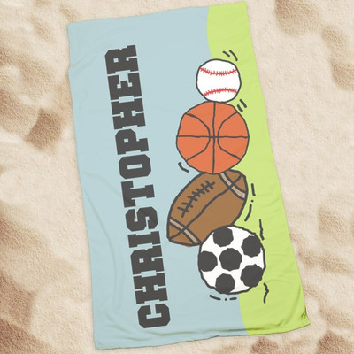 Beach Towel-All Sports