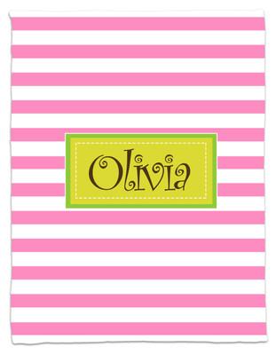 Blanket- Pink Stripes
