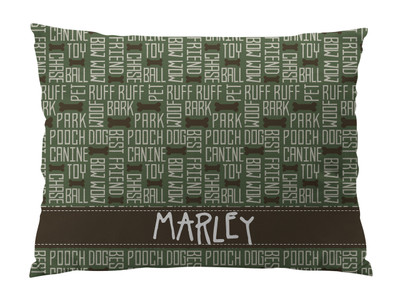 Dog Bed-All About Dogs-Olive