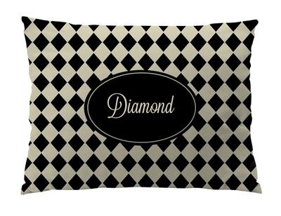 Dog Bed-Diamond Khaki