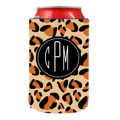 Can Koozie-Leopard