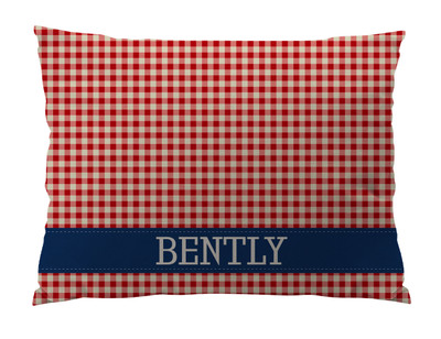 Dog Bed-American Gingham