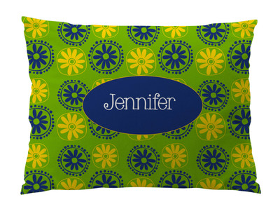 Floor Pillow- Funky Florals