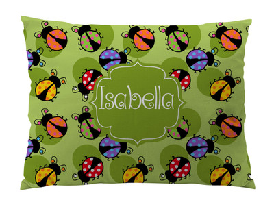 Floor Pillow-Lady Bug Brights