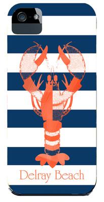 Hardcases-Navy Lobster Stripe