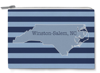 Accessory Zip Pouch- Rugby State City (WSNC)