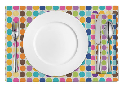 Placemats-Happy Dots