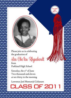 Invitation-Photo Wave Graduate