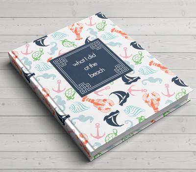 Custom Journal-Seashore