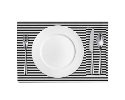 Placemats-Black and White ZZ
