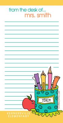 Teacher Fat Pad- Pencil Cup