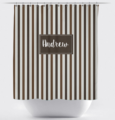 Shower Curtain- Coco Stripes