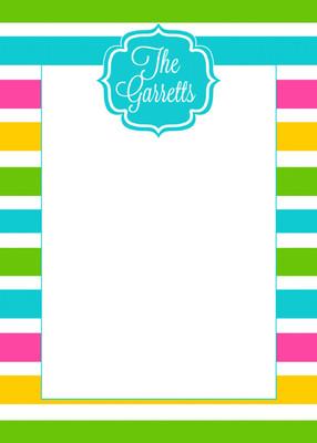 Fat Pad-Cabana Stripes