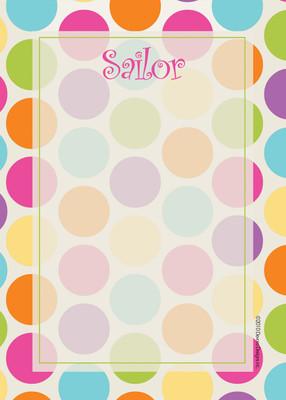 Fat Pad-Polka Dots Brights