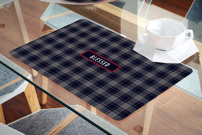 Placemat- Blessed Blue Plaid
