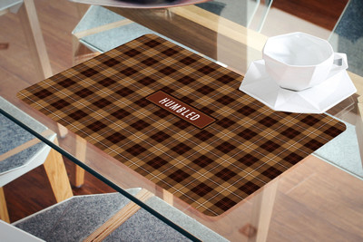 Placemat- Humbled Coco plaid