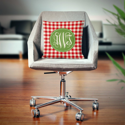 Pillow- Holiday Gingham