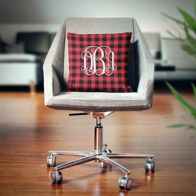 Pillow- Buffalo Plaid Red