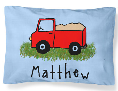 PILLOWCASE-Truck