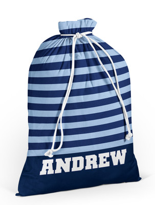 Laundry Bag- Rugby Stripe
