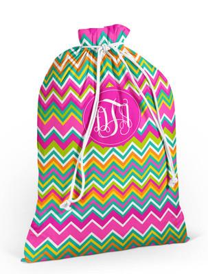 Laundry Bag- LB-Multi Color Chevron