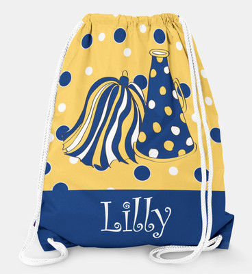 Drawstring Backpack- Cheerleader